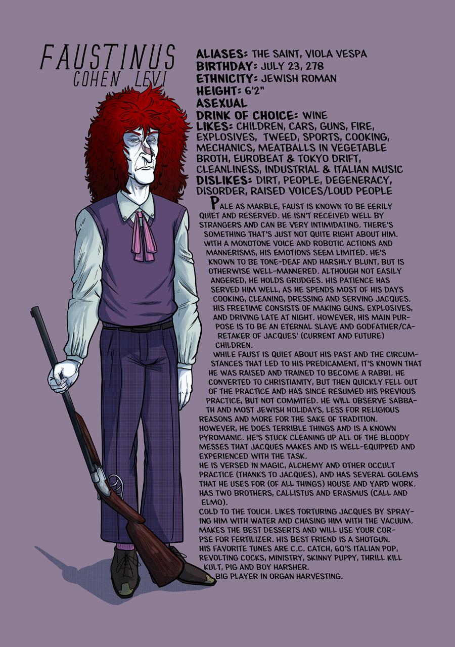 Faustinus profile